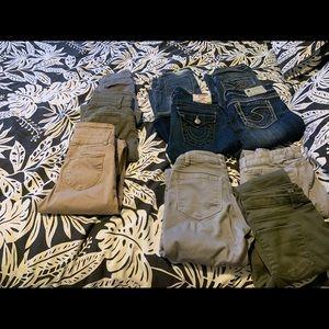 Lot of women's jeans